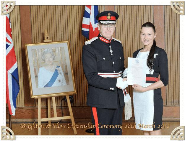 Brighton and Hove New Citizenship Ceremony